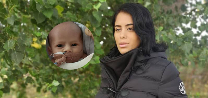 Love Island star Malin Andersson shares emotional goodbye with four week old daughter