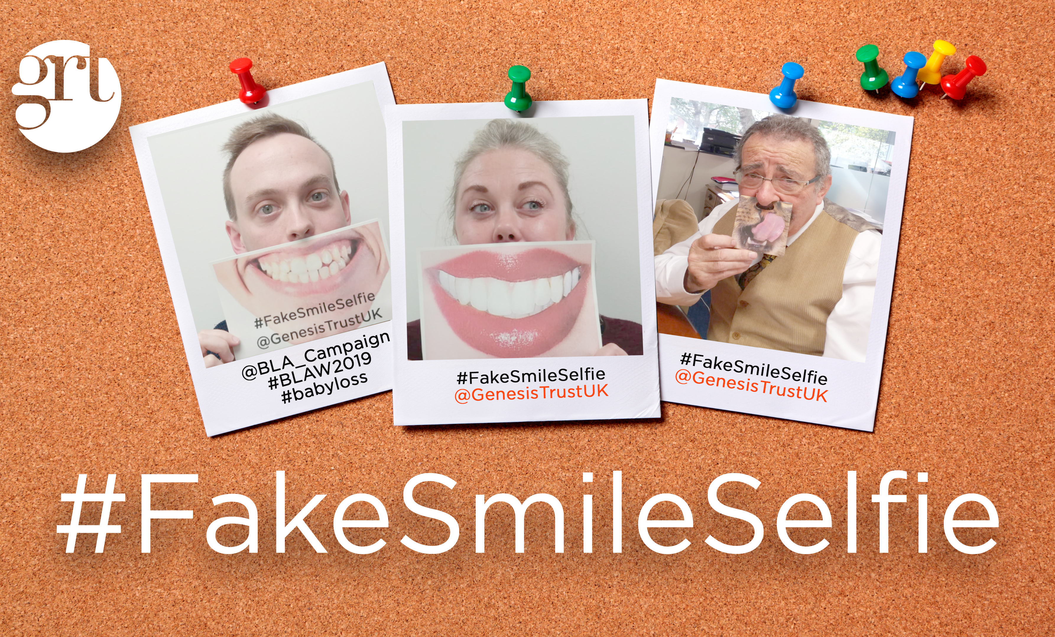 Our #FakeSmileSelfie Campaign