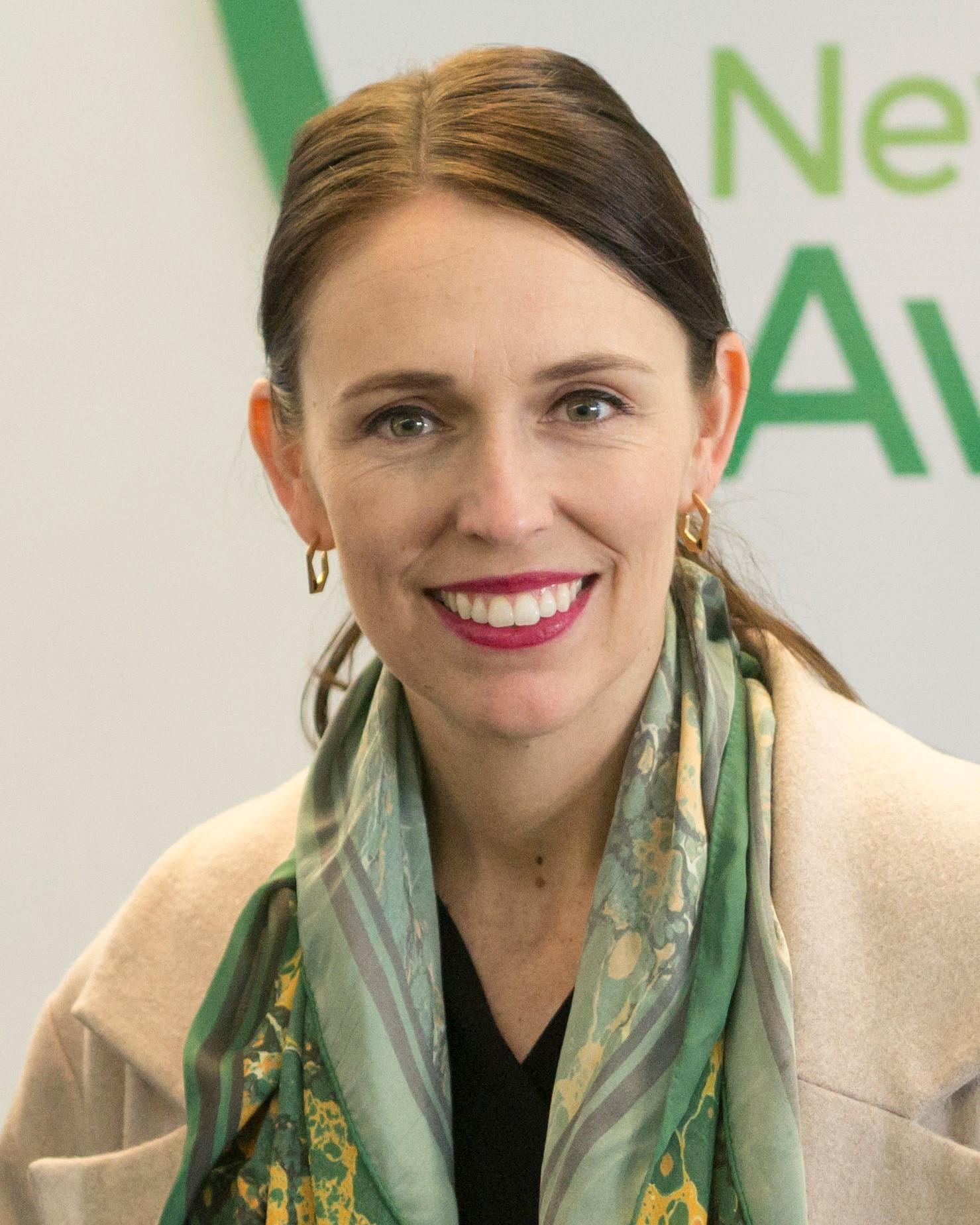 New Zealand Prime Minister, Jacinda Ardern